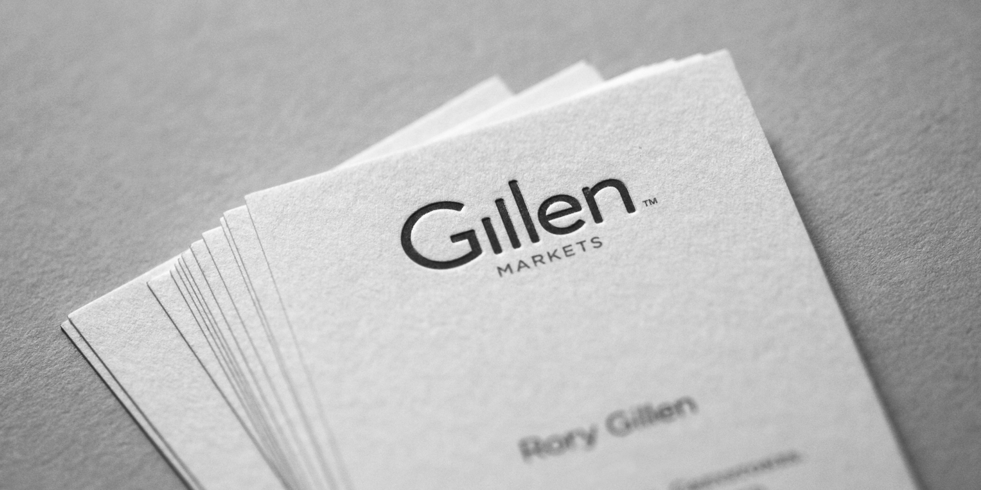 Gillen Markets Branding